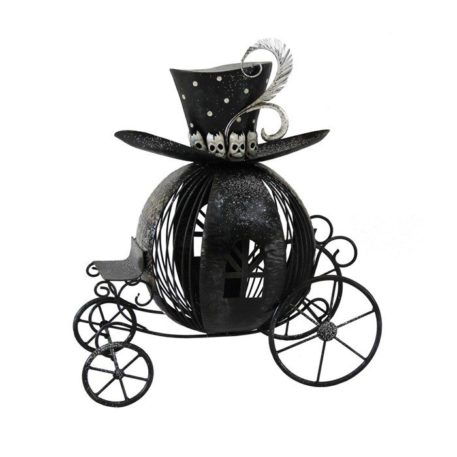Victorian Style Halloween Pumpkin Carriage