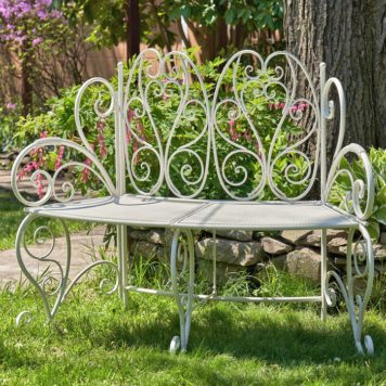 Folding Curved Garden Bench