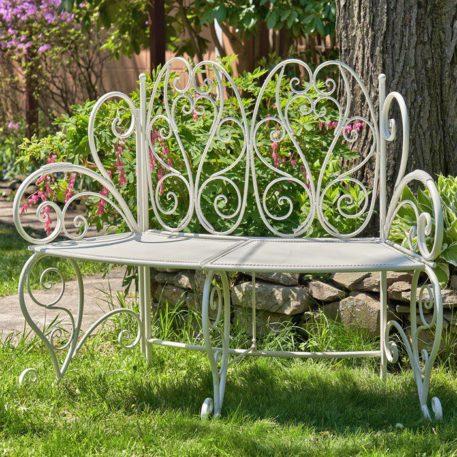 Folding Curved Garden Bench
