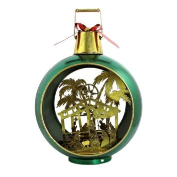 Christmas Ornament with Nativity Scene