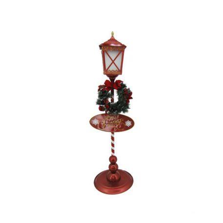 Solar Christmas Lantern with Round Base