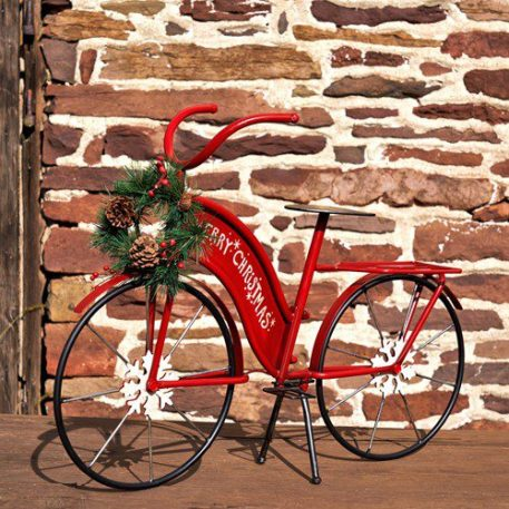 Small Red Christmas Bicycle