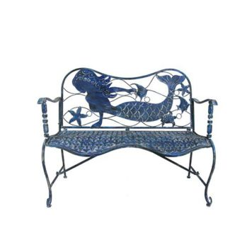 "Coastal Mermaid Bench ""Sirena"""