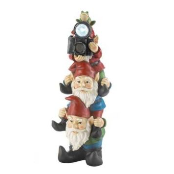 Solar Gnome Statue