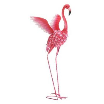 Large Flamingo Statue