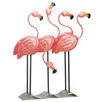 Pink Flamingo Yard Decor