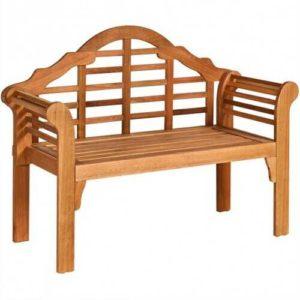 Folding Wood Patio Bench