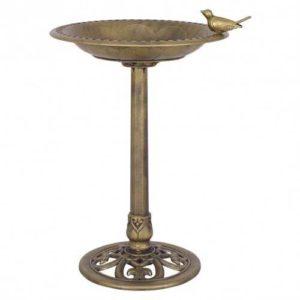 Antique Pedestal Bird Bath
