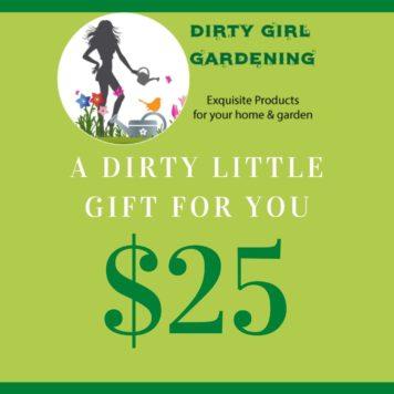 Dirty Girl Gardening Gift Cards